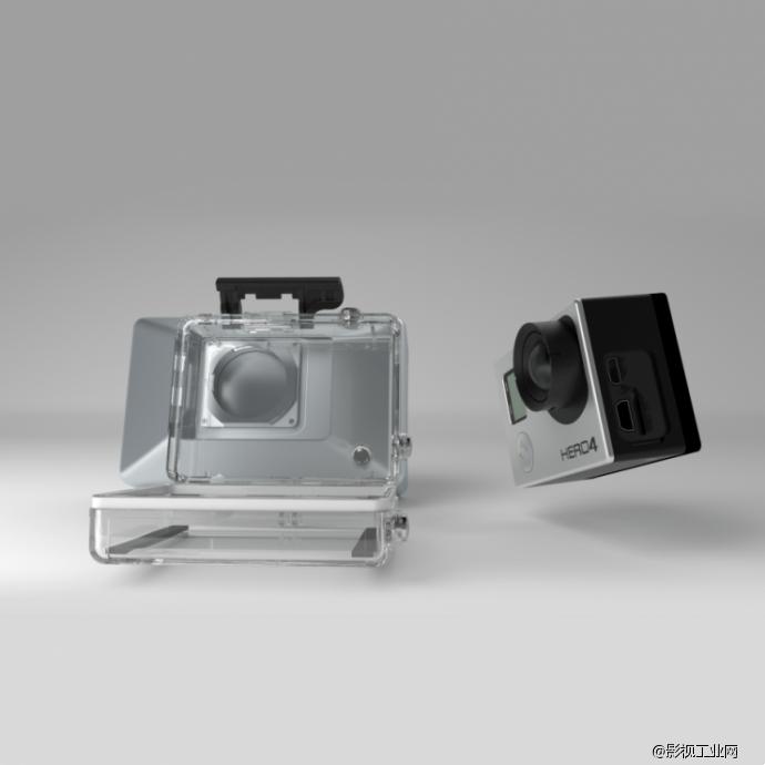 一台Gopro加这个50美元的镜头即可拍3D!