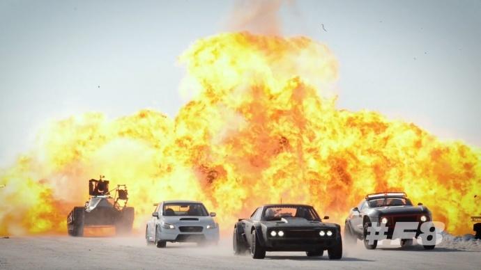 《速度与激情8》制作特辑,飞车戏怎么拍?