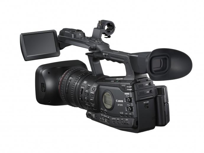 佳能发布专业高清数码摄像机新品XF315/XF310