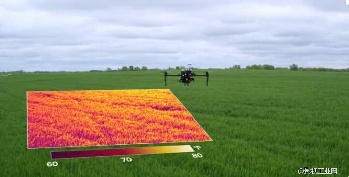 【最新科技】如果在农田里使用热成像相机……