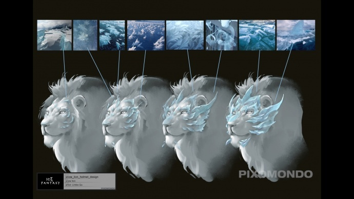 《幻城》请来《权力的游戏》特效公司做了一只雪狮!