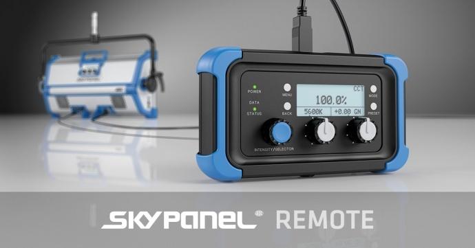 ARRI发布SkyPanel遥控器与升级固件