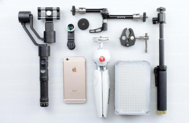 有了iphone7你还需要这款神器——智云Smooth Ⅱ