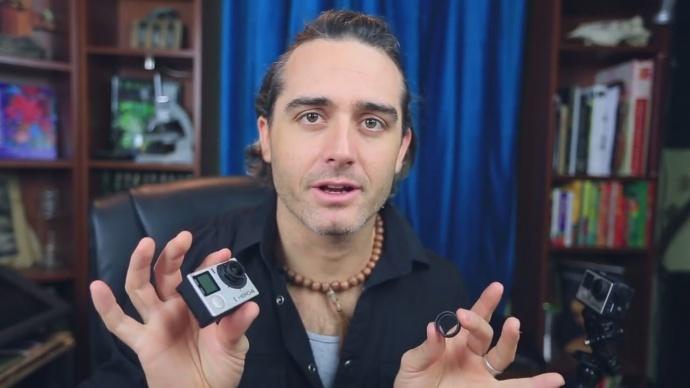 【摄影DIY】你知道吗,你的Gopro只要一点小改动就能拍摄超微距!