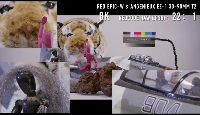 万圣节福利 8K神器评测入侵-RED WEAPON&Angenieux Type EZ系列