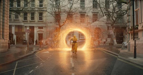 《奇异博士》拍摄现场 传送门到底是神奇还是神叨?