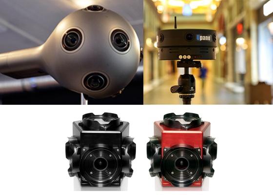 三类常用专业级VR全景摄影机评测效果大比拼