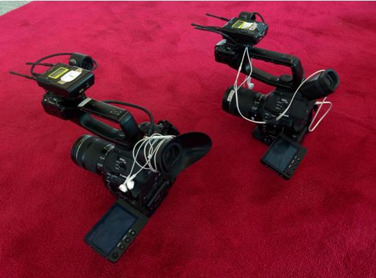 使用佳能EOS C100 Mark II拍摄电视台栏目《丹独约见》