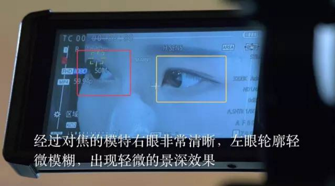 【技巧分享】松下UX系列摄录一体机区域对焦效果