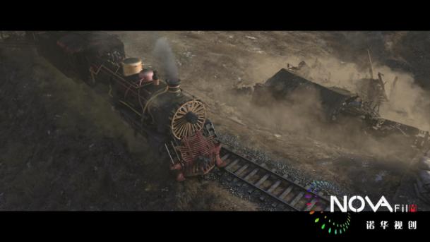 《铁道飞虎》贺岁逆袭,诺华视创特效助力