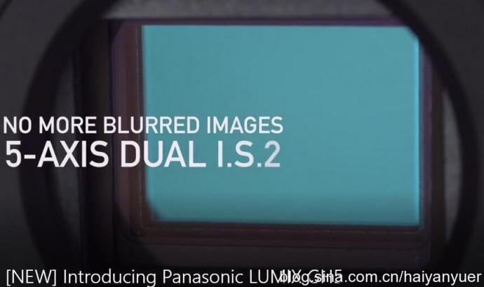 松下GH5正式发布,视频功能接近完美