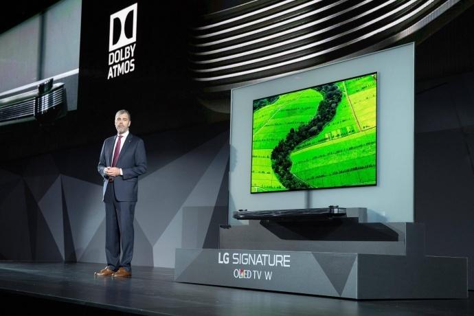 杜比实验室与LG电子发布首批同时支持杜比视界与杜比全景声技术的电视