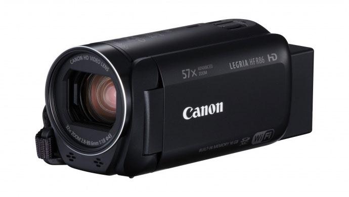 佳能发布家用数码摄像机新品LEGRIA HF R86/R806