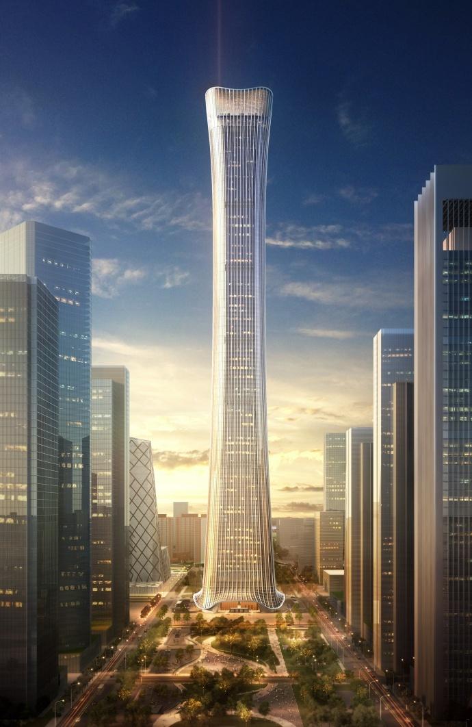 建筑效果图招聘_比国贸三期高近一倍!来,站在北京最高楼俯瞰京城   最美中国 ...