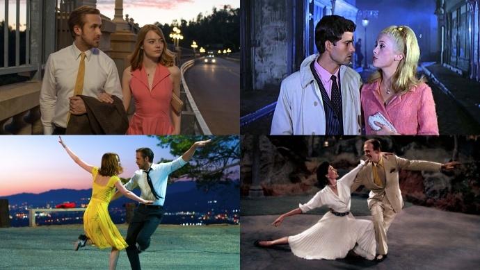 《爱乐之城》致敬经典歌舞片一览