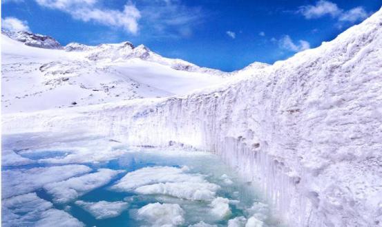 我要带你走遍达古冰山,来一场天下最美的流浪!(VR视频)