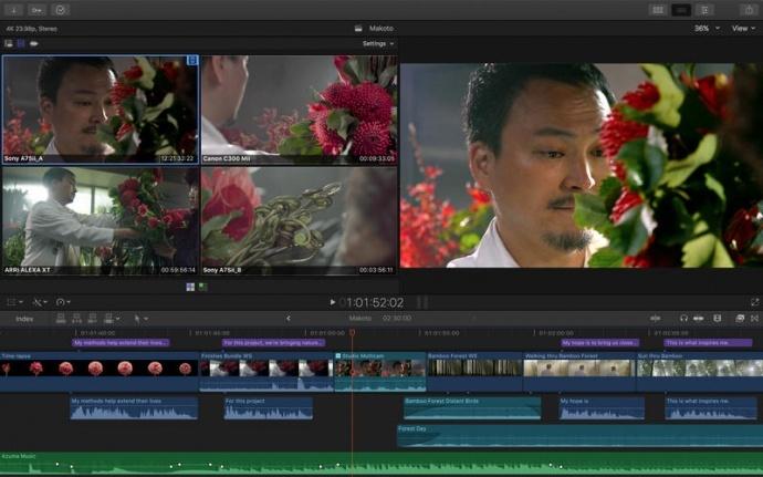 Final Cut Pro X 10.3.2新功能说明