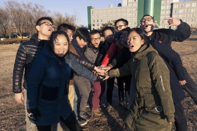 挑战自己,团队为王-----记蓦麟视觉团队拓展活动