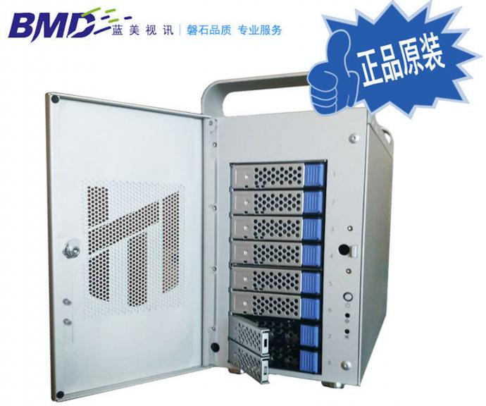蓝美视讯 Landers Thunderbolt2代8盘位高速磁盘阵列