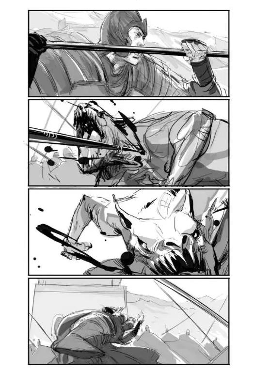 《长城》故事版独家揭露 | 概念画师佟浩