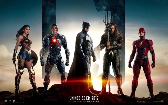 《正义联盟》发布首支官方预告,蝙蝠侠带领超级英雄强力聚首