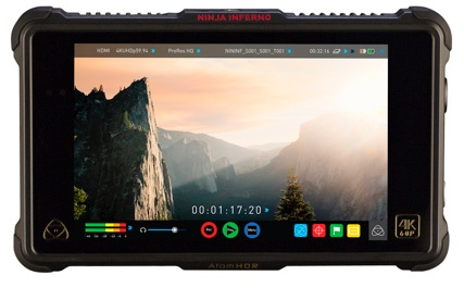 ATOMOS发布新4K 60P记录仪Ninja Inferno忍者烈焰!附阿童木记录仪终极选购指南