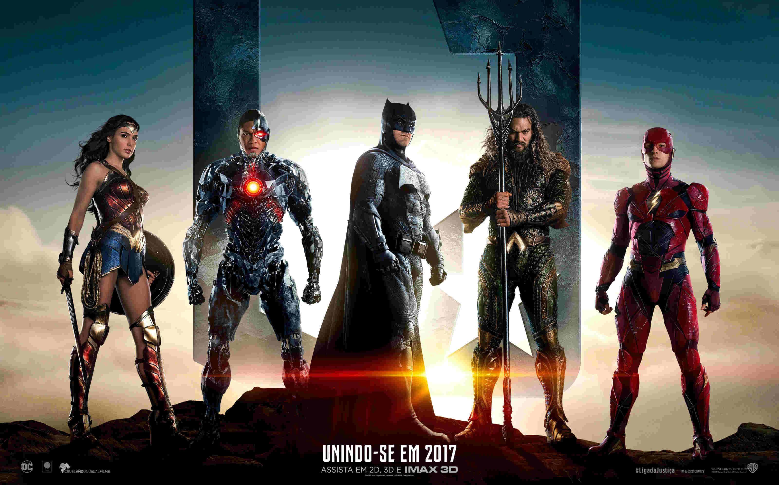 《正义联盟》发布首支官方预告,蝙蝠侠、神奇女侠、海王...一一登场