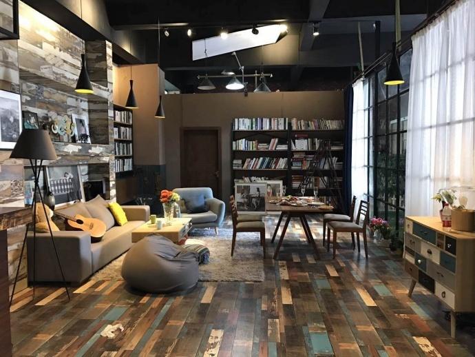 上海造梦空间实景影棚2017最新场景:中式家 现代家