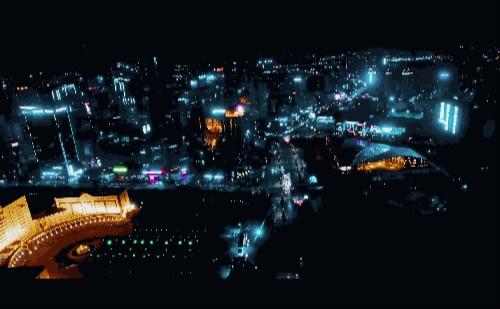 惠州延时,鹅城23°N-换个角度看城市