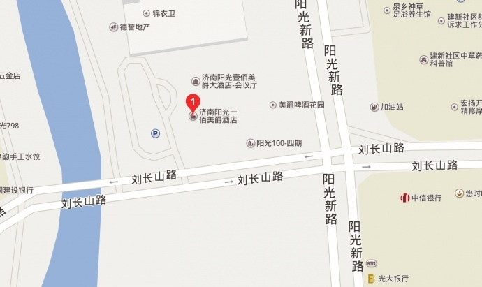 青岛万达艾美酒店 酒店地点:山东省青岛市市北区中央cbd商圈延吉路