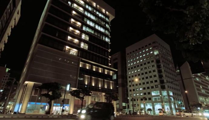 冲绳那霸夜景:看了这个视频就知道星云5100拍摄到底有多稳