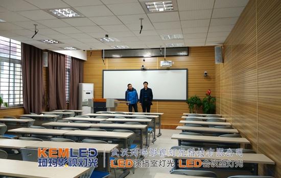三招录播搞定图纸教室设计安装调试-灯光工业proe自动v图纸影视图片