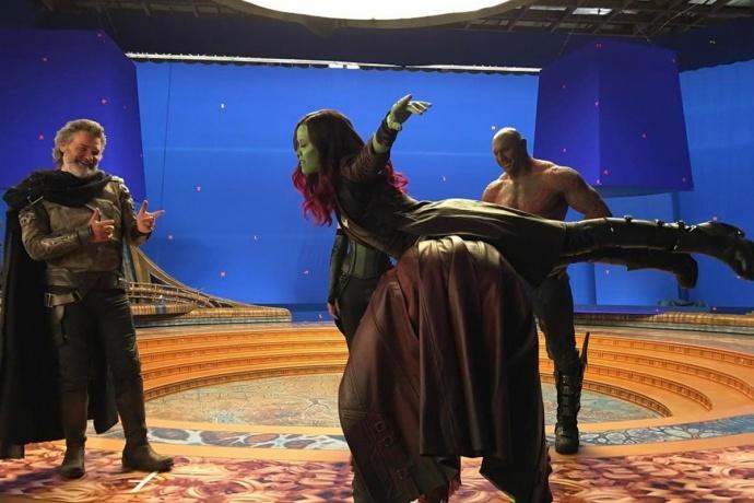为了满足大银幕放映,《银河护卫队2》在拍摄上都做了什么