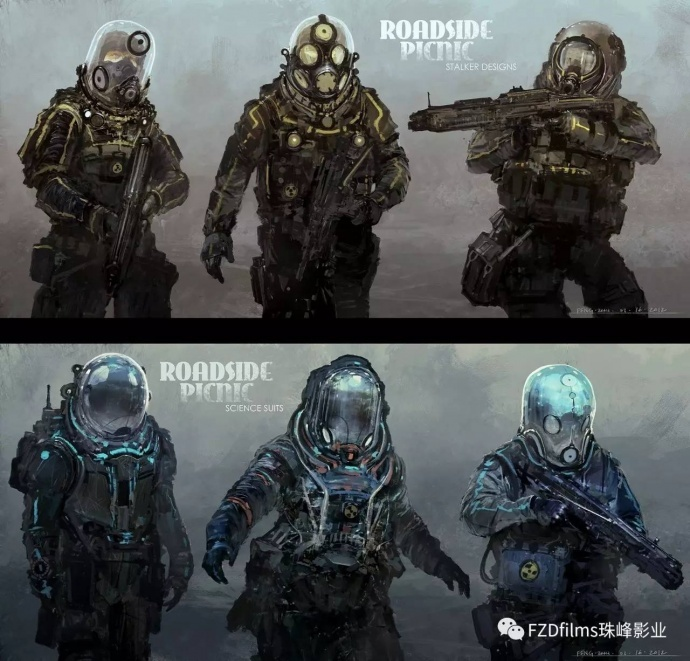 分析| 影视概念设计与游戏原画设计究竟有何不同?