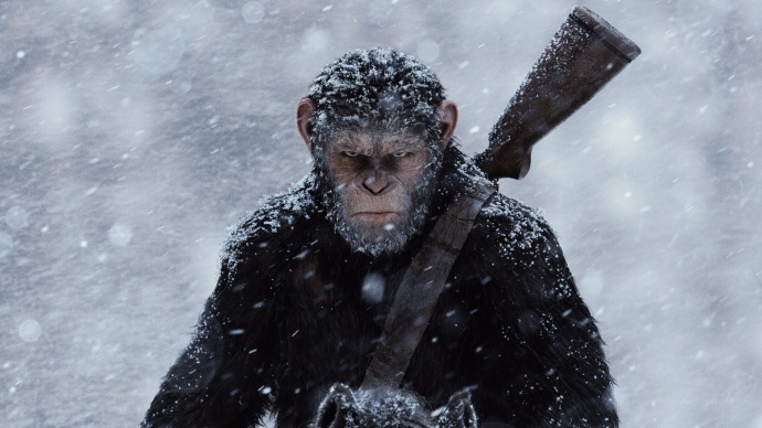 前两部《猩球崛起》,我们记住了那个坚毅有担当的猩猩凯撒。但,人类容不下它与它的家族。一场关乎猿族和人类命运的终极之战,一触即发。  本文为作者分享,影视工业网鼓励从业者分享原创内容,影视工业网不会对原创文章作任何编辑!如作者有特别标注,请按作者说明转载,如无说明,则转载此文章须经得作者同意,并请附上出处(影视工业网)及本页链接。原文链接 http://107cine.