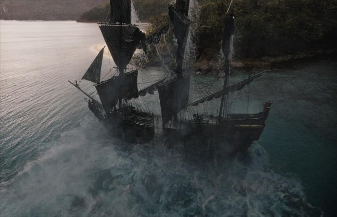 不说《加勒比海盗5》好不好,但是这样的拍摄幕后是真服