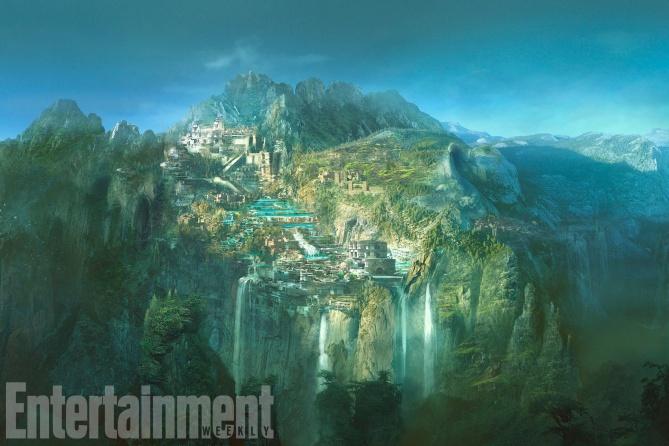 惊艳!艺术指导亲解《神奇女侠》令人惊叹的视觉世界