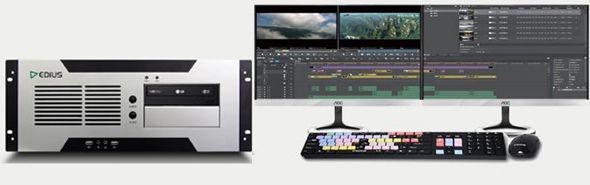 EDIUS 高清HD/3D/4K非编系统,入门至高端尽在中科视创