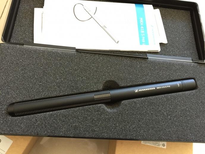 森海塞尔 mkh418-s SENNHEISER MKH418-S 立体声话筒,影视同期录音专业话筒