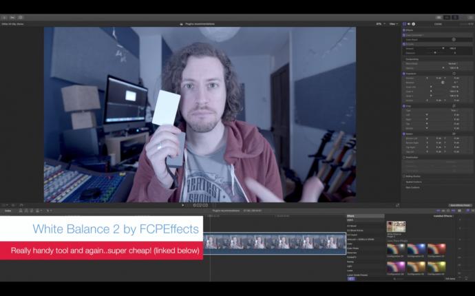 让你的FCP X更好用的七个基本插件
