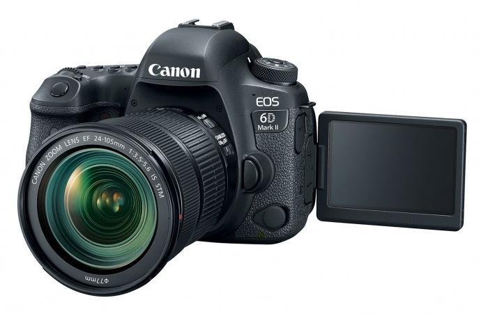 Canon EOS 6D Mark II 登场,单机:1,999美元起售