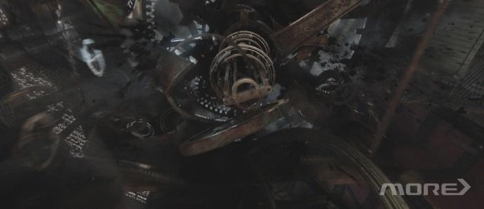 MORE VFX《悟空传》视效解析  Part2·坍塌&破碎
