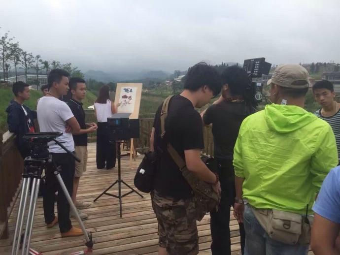 第二届贵阳农业嘉年华拍摄花絮——贵州省多彩贵州影业有限公司