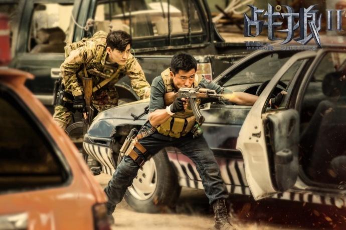 《战狼2》超越《美人鱼》,顺利登顶国内票房第一