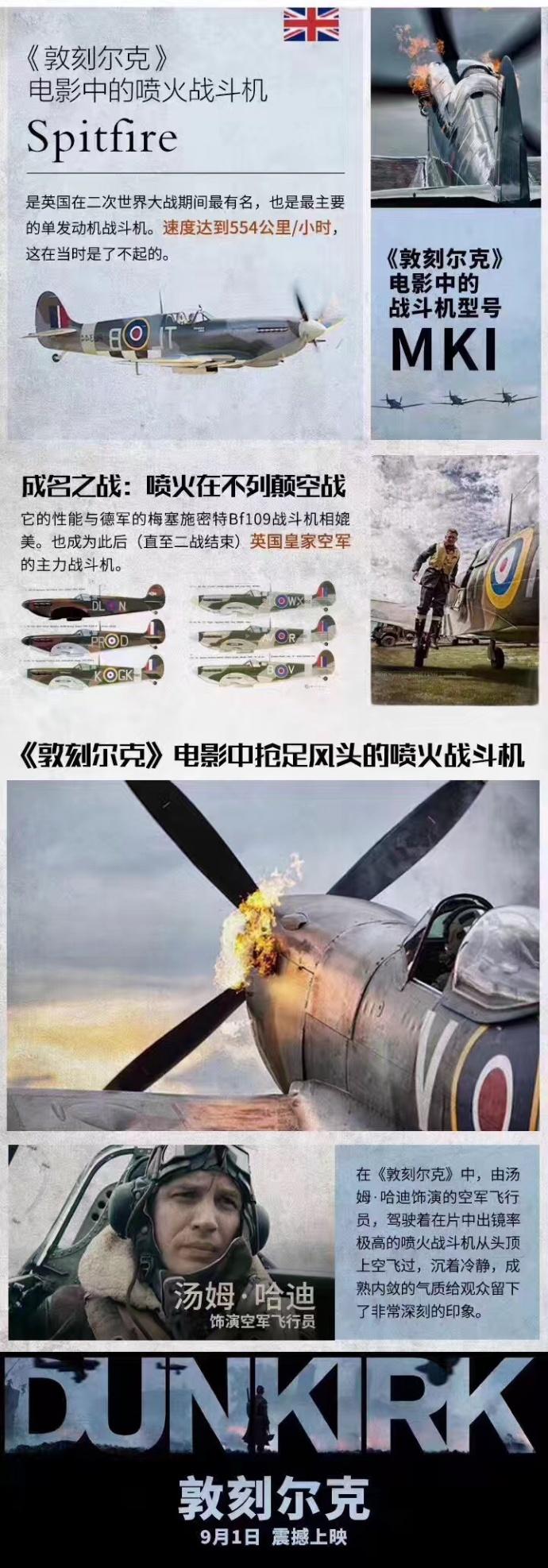 《敦刻尔克》上演刺激空中对决,全新中文制作特辑燃爆释出