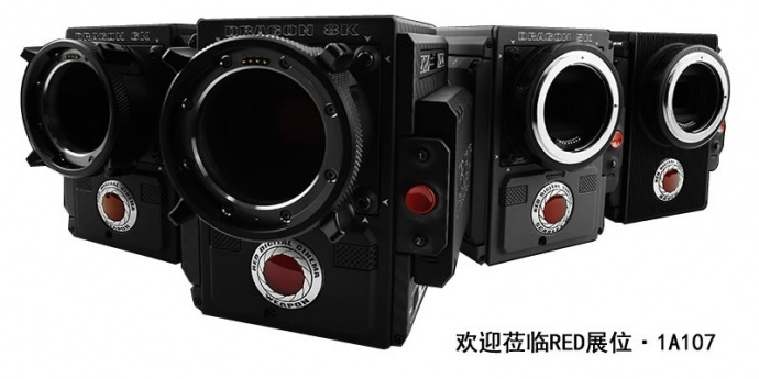 RED DSMC2系列摄影机及工作流程亮相2017BIRTV展会