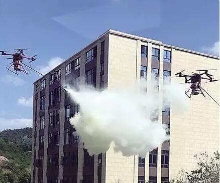 消防人员的福利来了,消防无人机