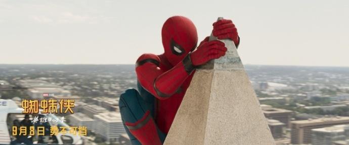电影《蜘蛛侠:英雄归来》首周票房破4亿,创历年九月好莱坞电影单日票房最高纪录