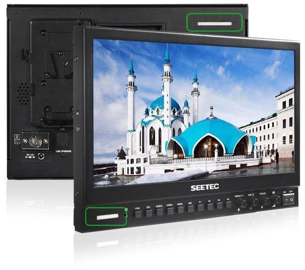 视瑞特P133-9HSD 13寸SDI超高清单反摄像机导演监视器专业5d显示屏BMCC a7s2 广播级导演监视器
