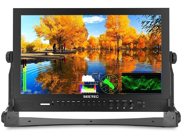 视瑞特P173-9DSW 17寸IPS屏全高清1920*1080 双路3G-SDI输入输出 带波形图矢量图直方图专业级摄影摄像导演监视器